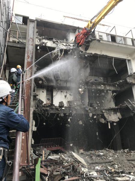 集合住宅(鉄筋コンクリート建て)解体工事